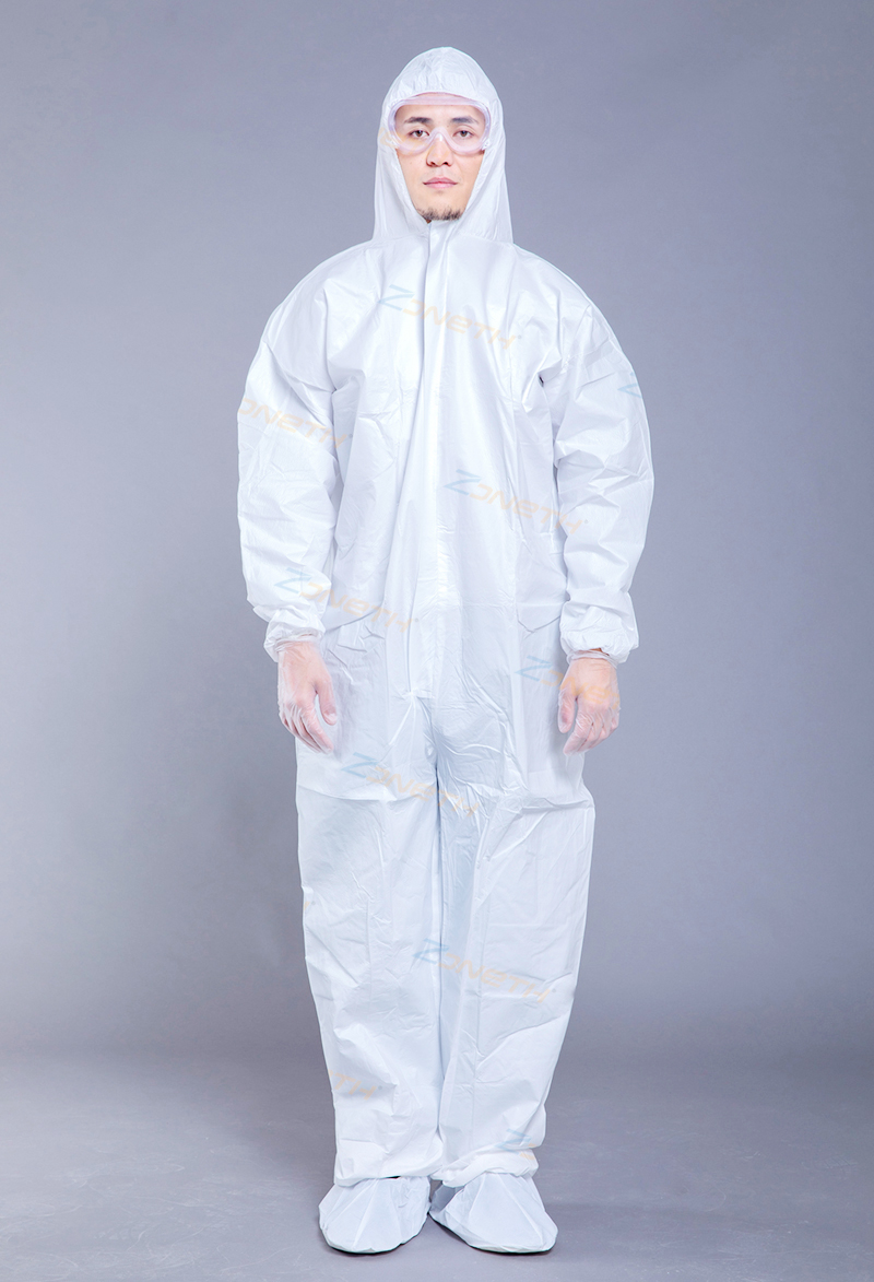 55gsm MICROPOROUS(SF) Disposable Protective Coverall