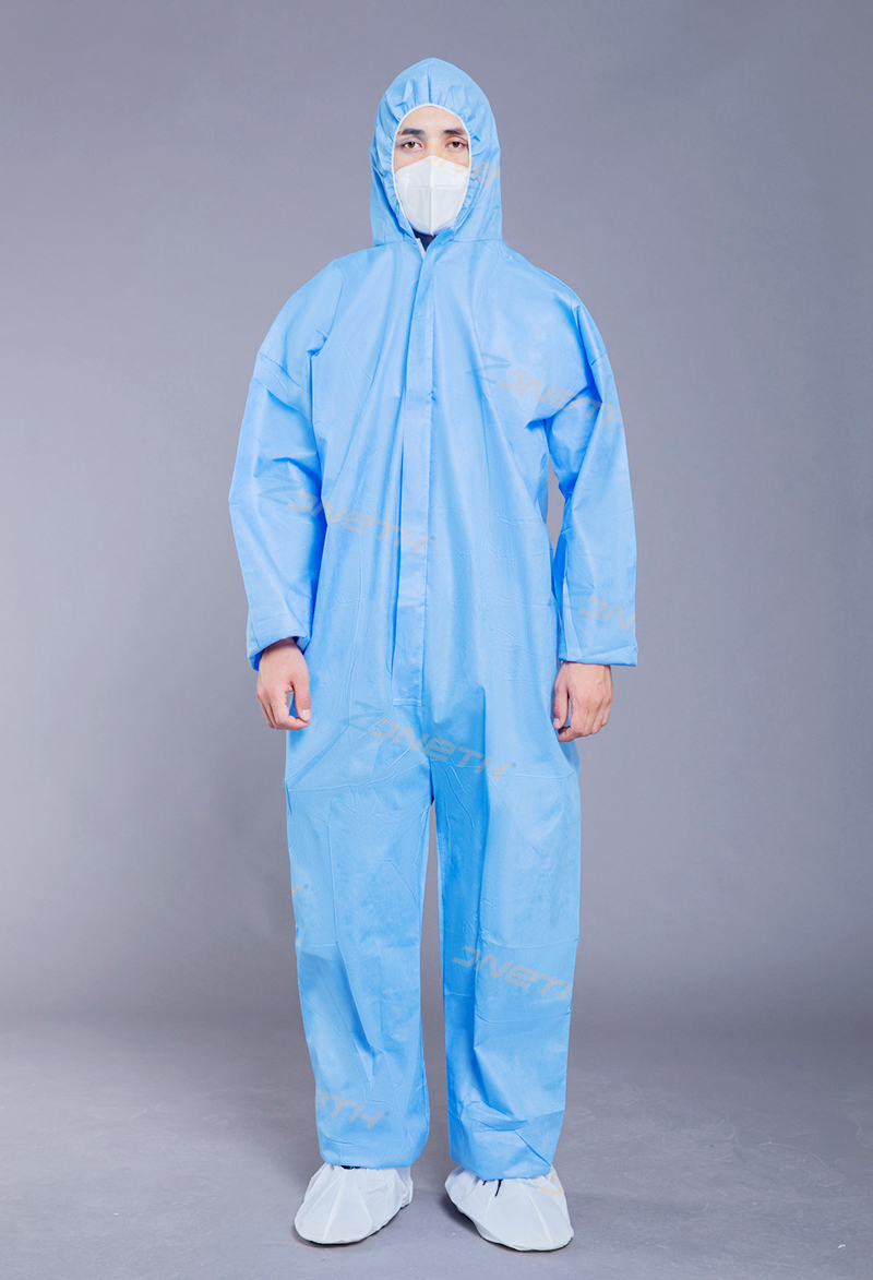 35gsm SMS Disposable Protective Coverall