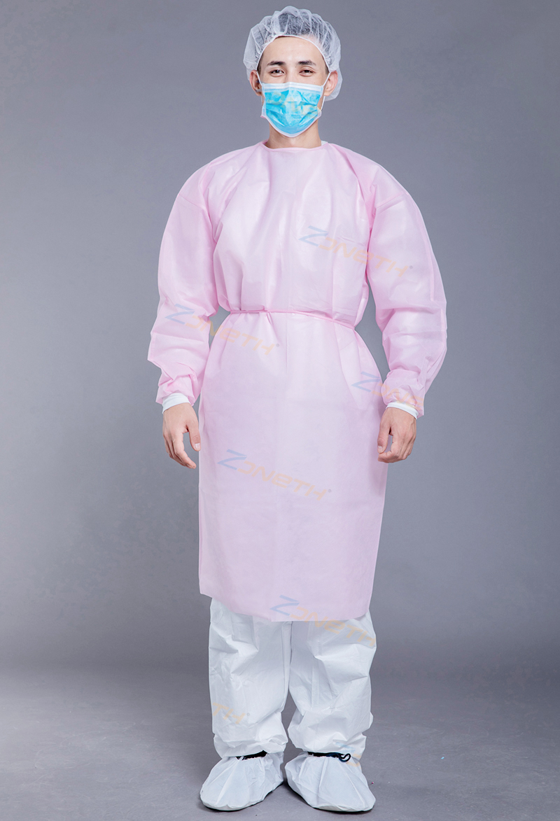 20gPP+15gPE Disposable Isolation Gown