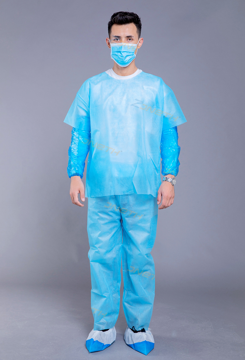 35gsm PP Disposable Scrub Suit