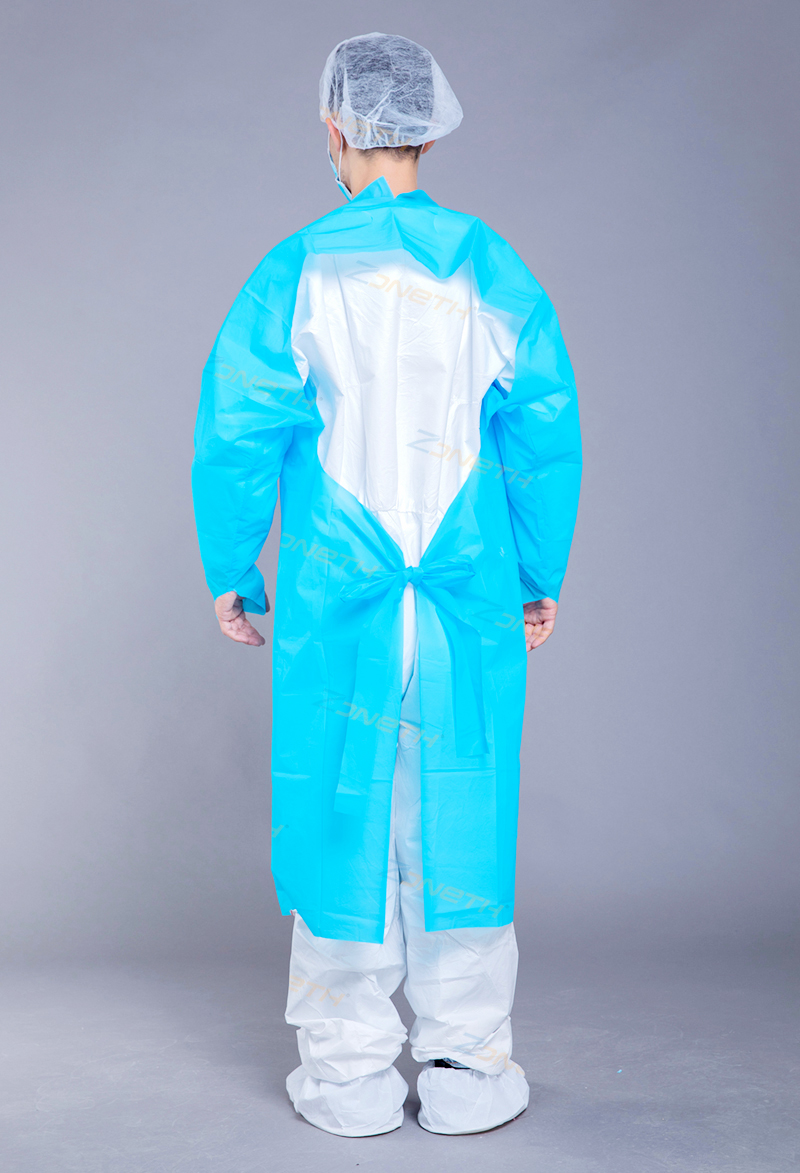 50g CPE/PE Disposable Plastic Gown