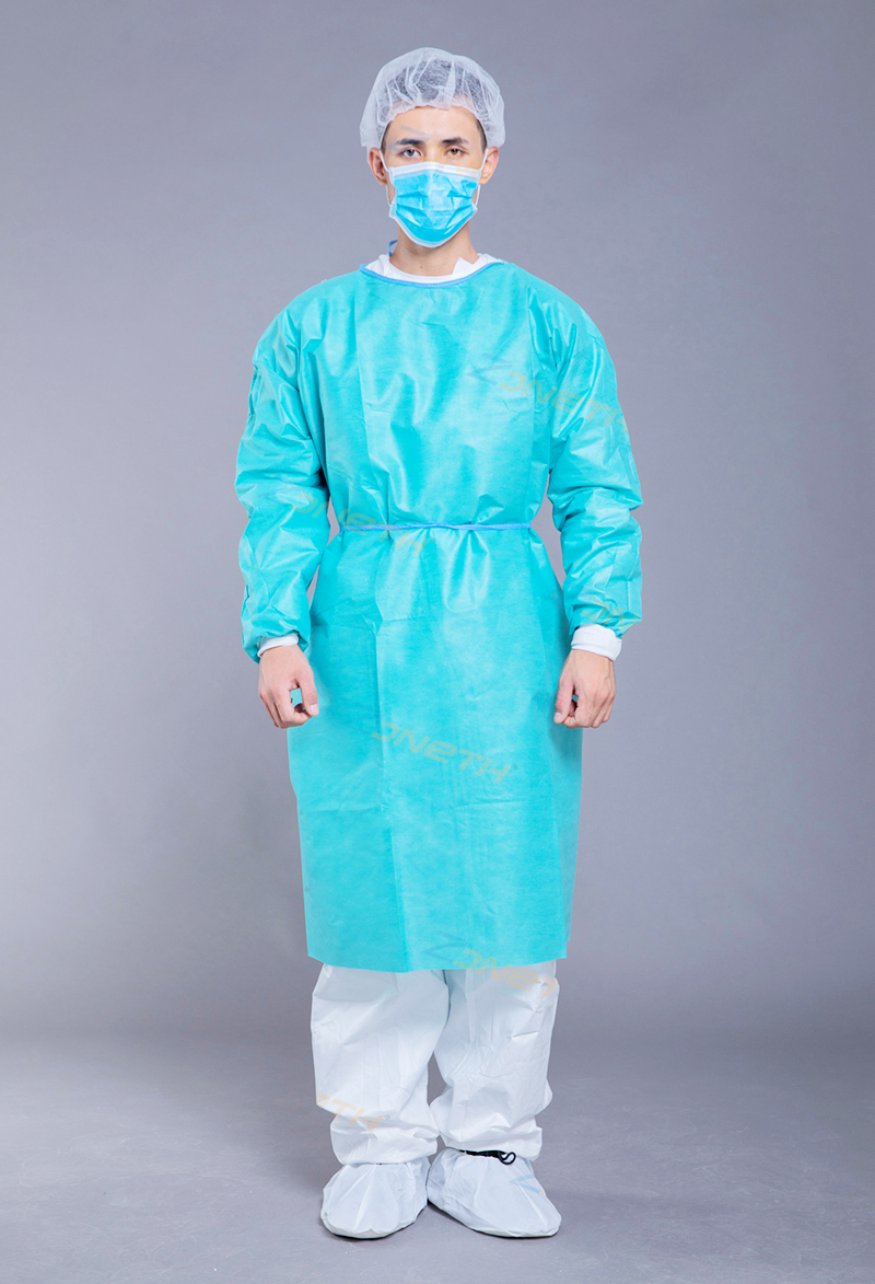 40gsm SMS Medical Sugical Gown